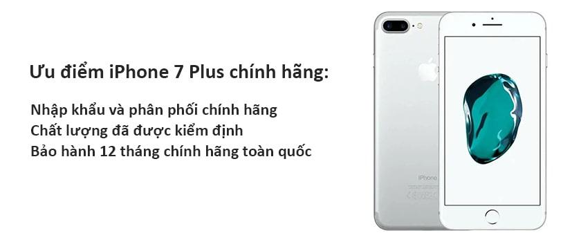 iPhone 7 Plus đập hộp chính hãng