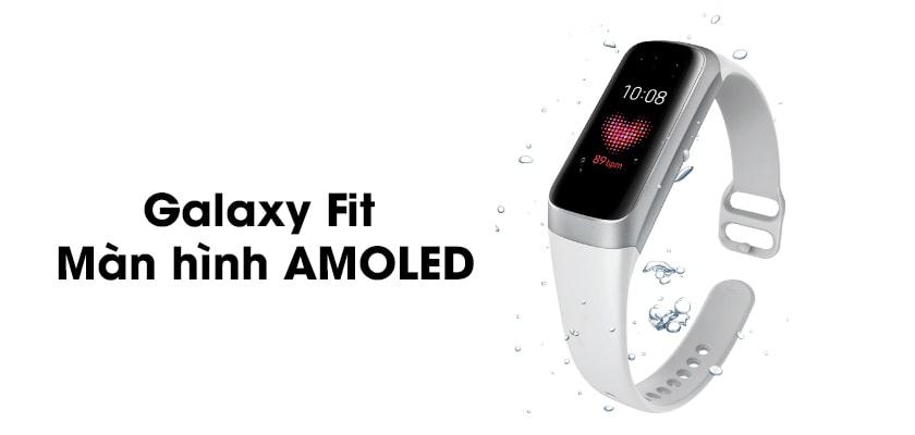 Màn hình hiển thị trên Galaxy Fit 2 và Fit