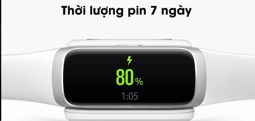 Dung lượng pin Galaxy Fit và Gear Fit 2