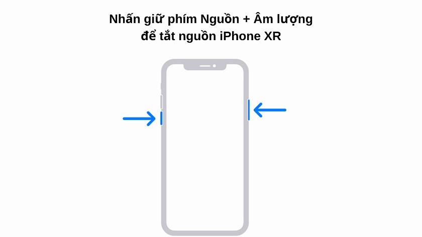 Cách tắt nguồn iPhone XR dành cho người mới dùng