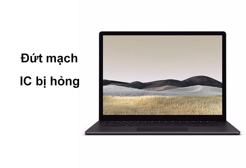 Màn hình laptop bị sọc trắng dọc