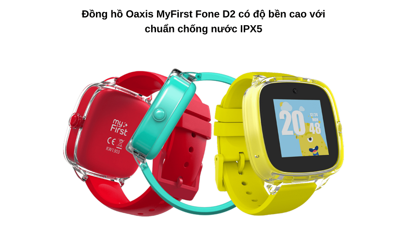 Đồng hồ Oaxis MyFirst Fone D2